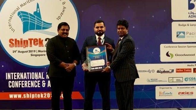 Success for SeaTec at the ShipTek International Awards 2019