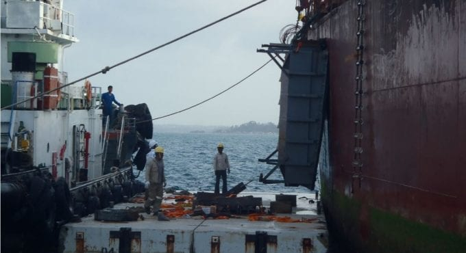 300m Cargo Ship Damage Repairs
