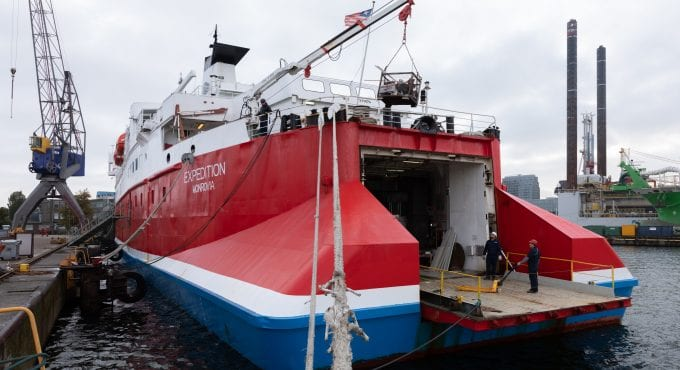 SeaTec and V.Ships Leisure mobilise team for vessel repair