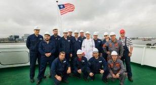 SeaTec and V.Ships Leisure repair team