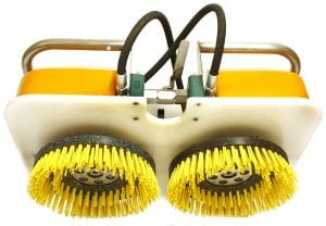 Twin Brush Cleaning Tool