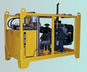 WD80 Hydraulic Power Pack System