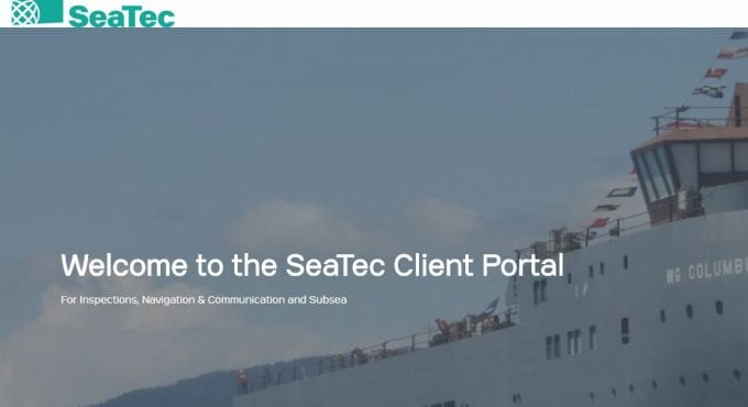 SeaTec's new client portal takes customer service to the next level