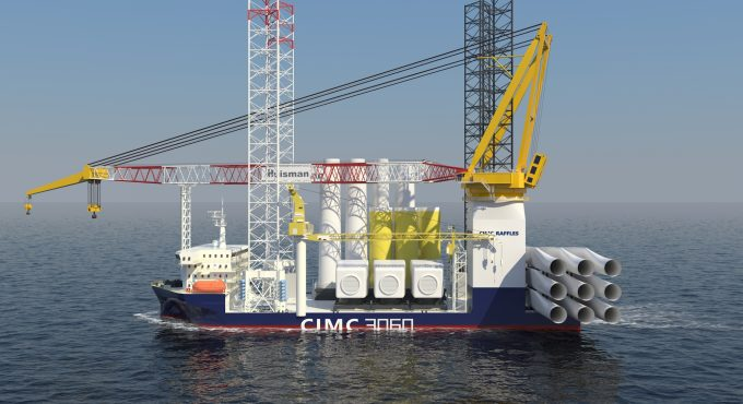 SeaTec secures contract to manage wind turbine installation vessel amid energy transition drive